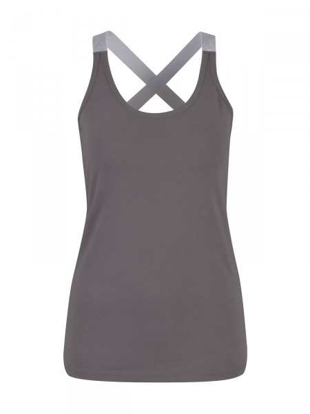 SMITH & SOUL Damen Top, anthrazit