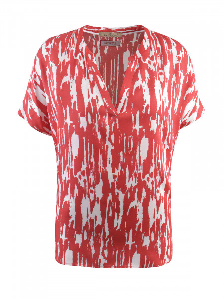 SMITH & SOUL Damen Bluse, rot