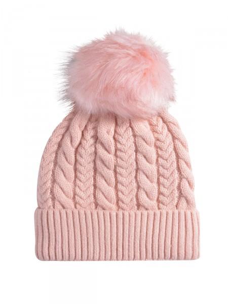 HEARTKISS Damen Mütze, rosa