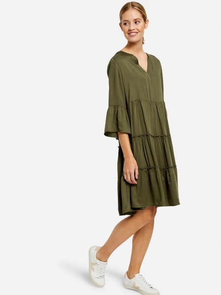 MILANO ITALY Damen Kleid, oliv