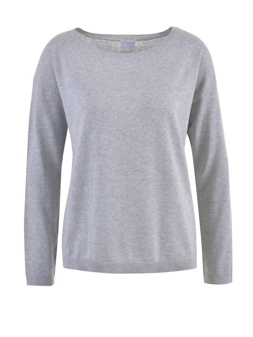 milano-italy-damen-pullover-grau