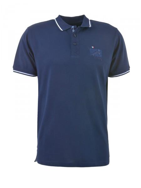 MILANO ITALY Herren Poloshirt, navy