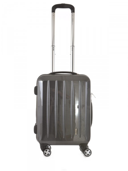 "MILANO ITALY Trolley ""London TSA 50 cm"", anthrazit carbon"