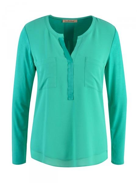 SMITH & SOUL Damen Bluse, grün
