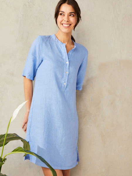 HEARTKISS Damen Kleid, blau