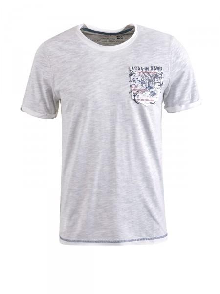 MILANO ITALY Herren T-Shirt, hellgrau