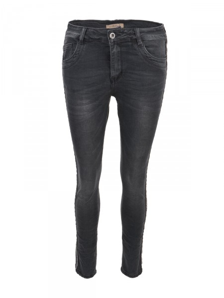 SMITH & SOUL Damen Jeans, schwarz
