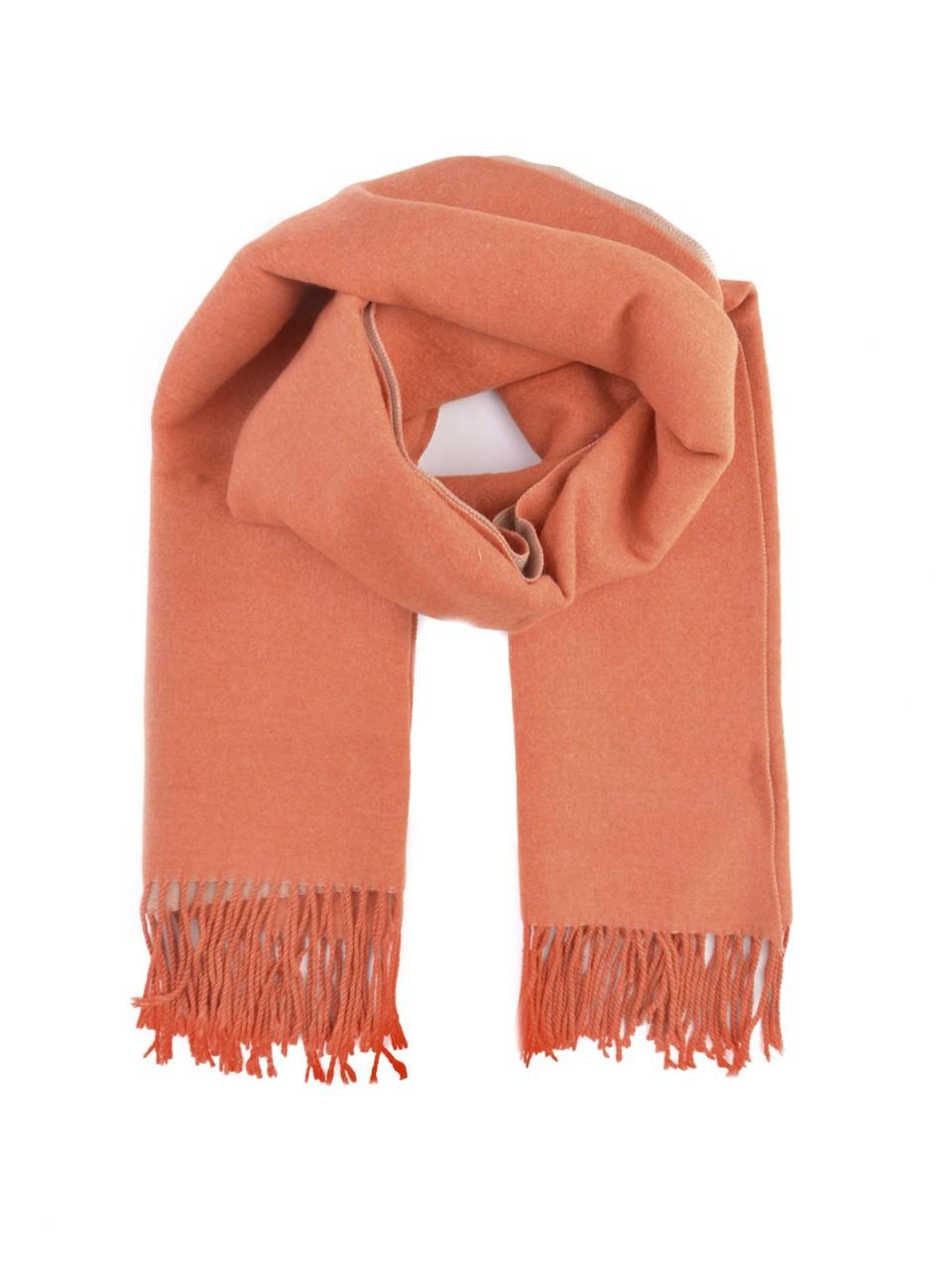 Schals - MILANO ITALY Damen Schal, orange  - Onlineshop Designermode.com