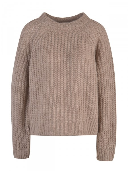 SMITH & SOUL Damen Strickpullover, braun