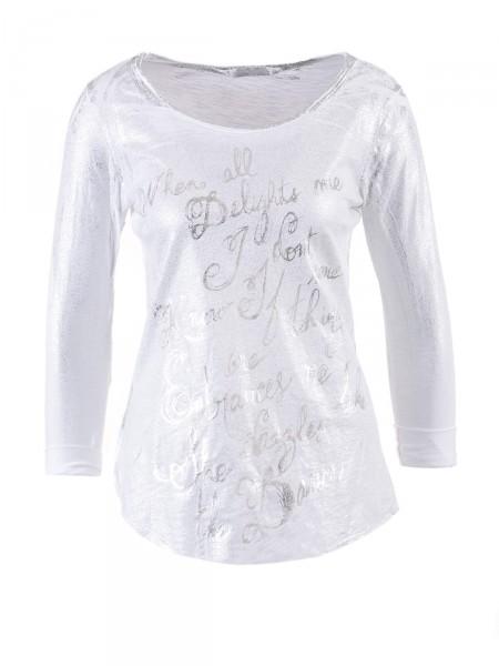 HEARTKISS Damen Shirt, weiß