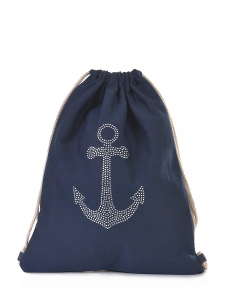 Canvas Beutel, navy