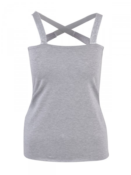 SMITH & SOUL Damen Top, grau