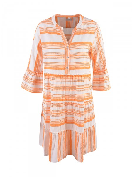 MILANO ITALY Damen Kleid, orange