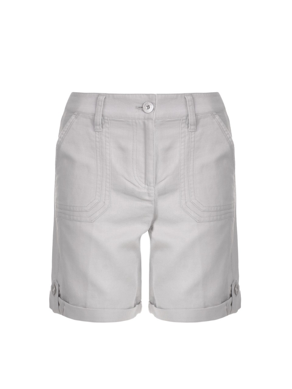 milano-italy-damen-shorts-grau