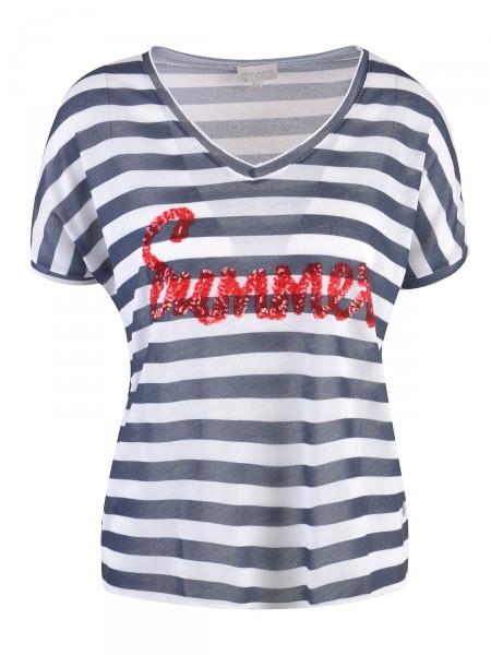 MILANO ITALY Damen T-Shirt, blau