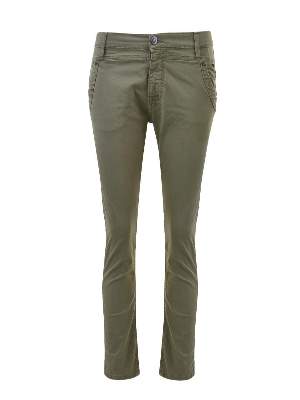 replay-damen-jeans-oliv