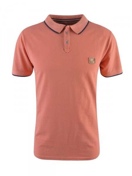 MILANO ITALY Herren Poloshirt, orange