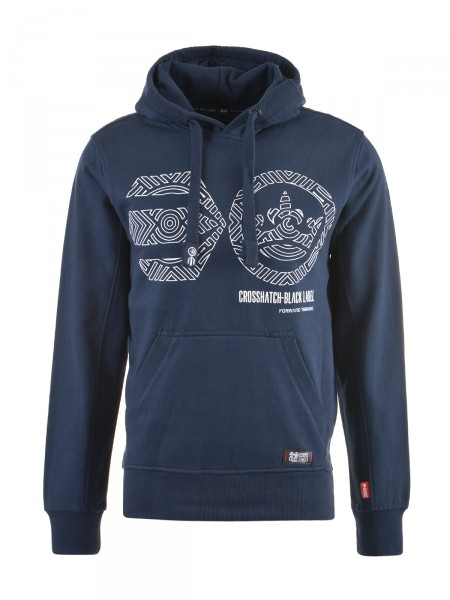 CROSSHATCH Herren Sweatshirt, navy