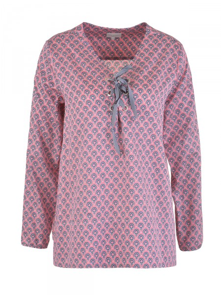 MILANO ITALY Damen Bluse, rosa