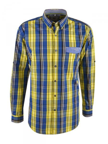 MILANO ITALY Herren Hemd, gelb