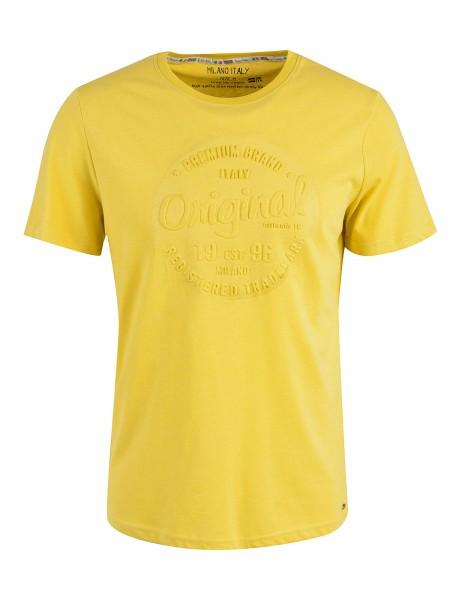 MILANO ITALY Herren T-Shirt, gelb
