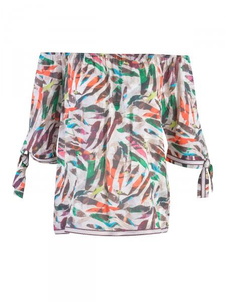 MILANO ITALY Damen Bluse, grün