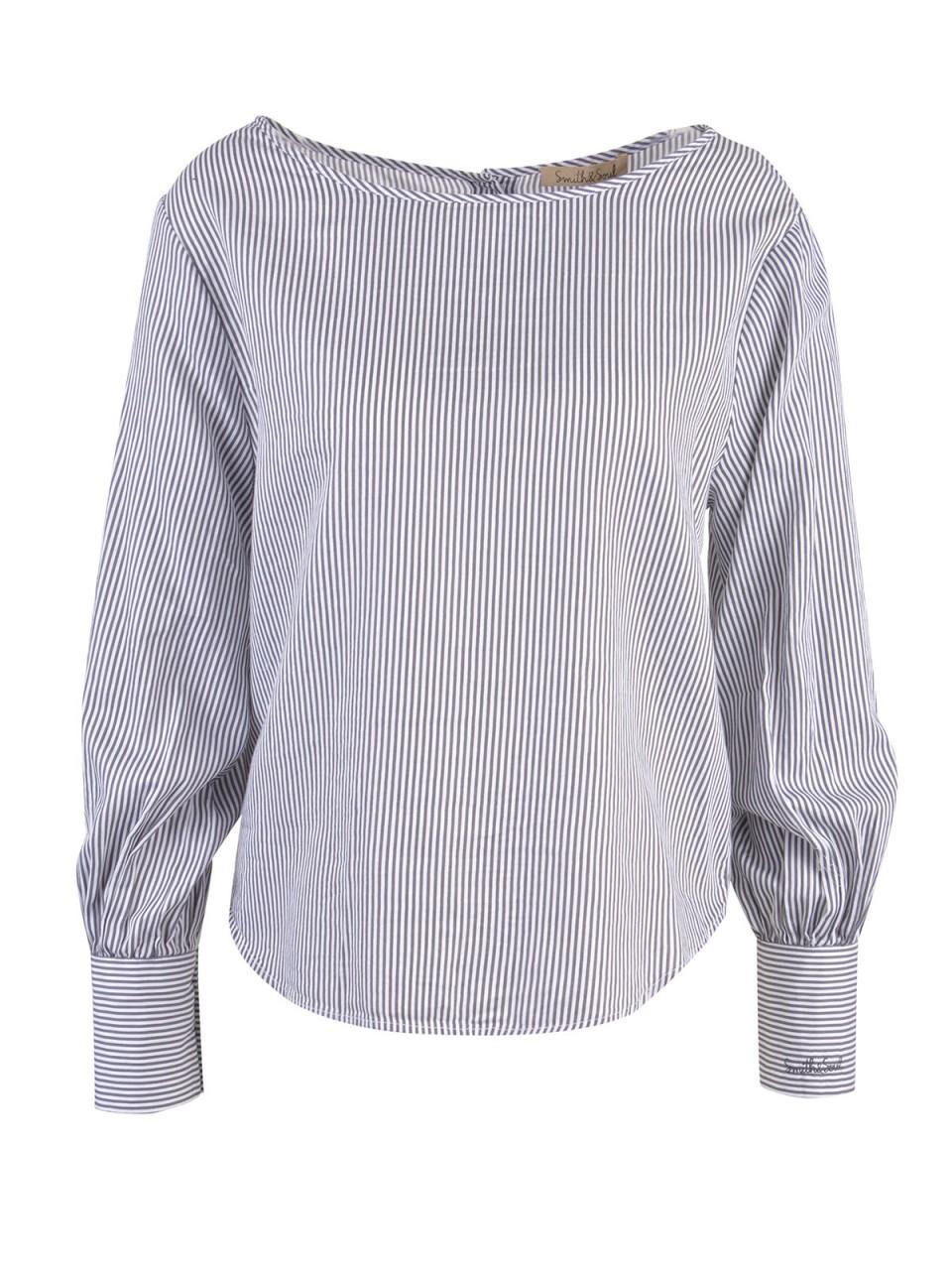 Oberteile - SMITH SOUL Damen Bluse, grau  - Onlineshop Designermode.com