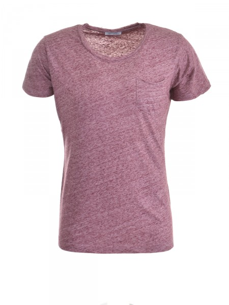 KEY LARGO Herren T-Shirt, bordeaux