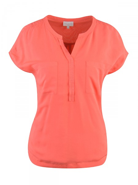 MILANO ITALY Damen Bluse, orange