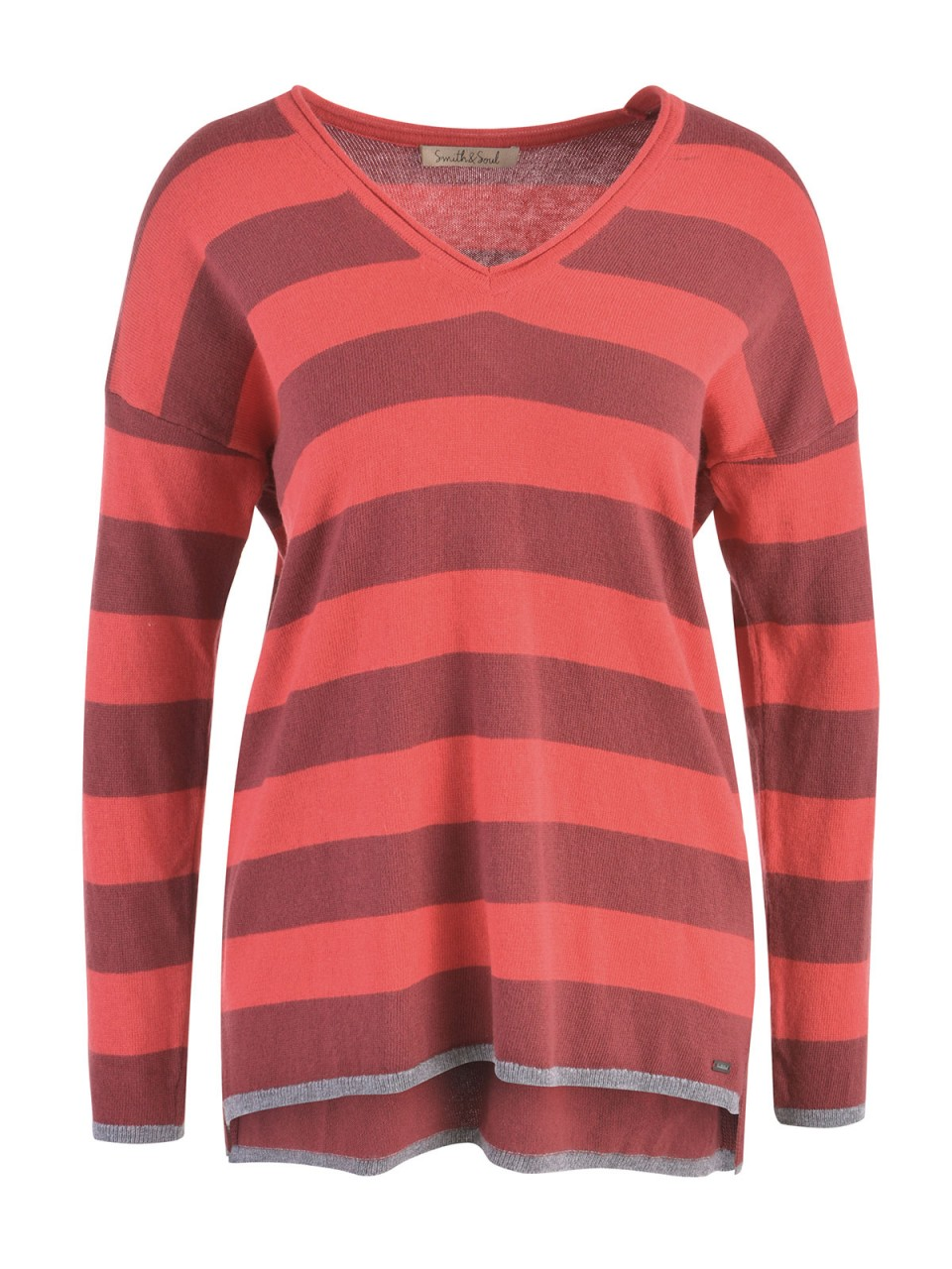 smith-amp-soul-damen-pullover-rot