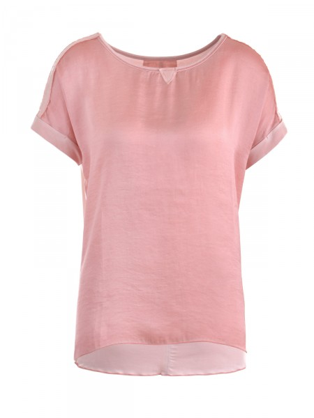 CAT NOIR Damen T-Shirt, rosa