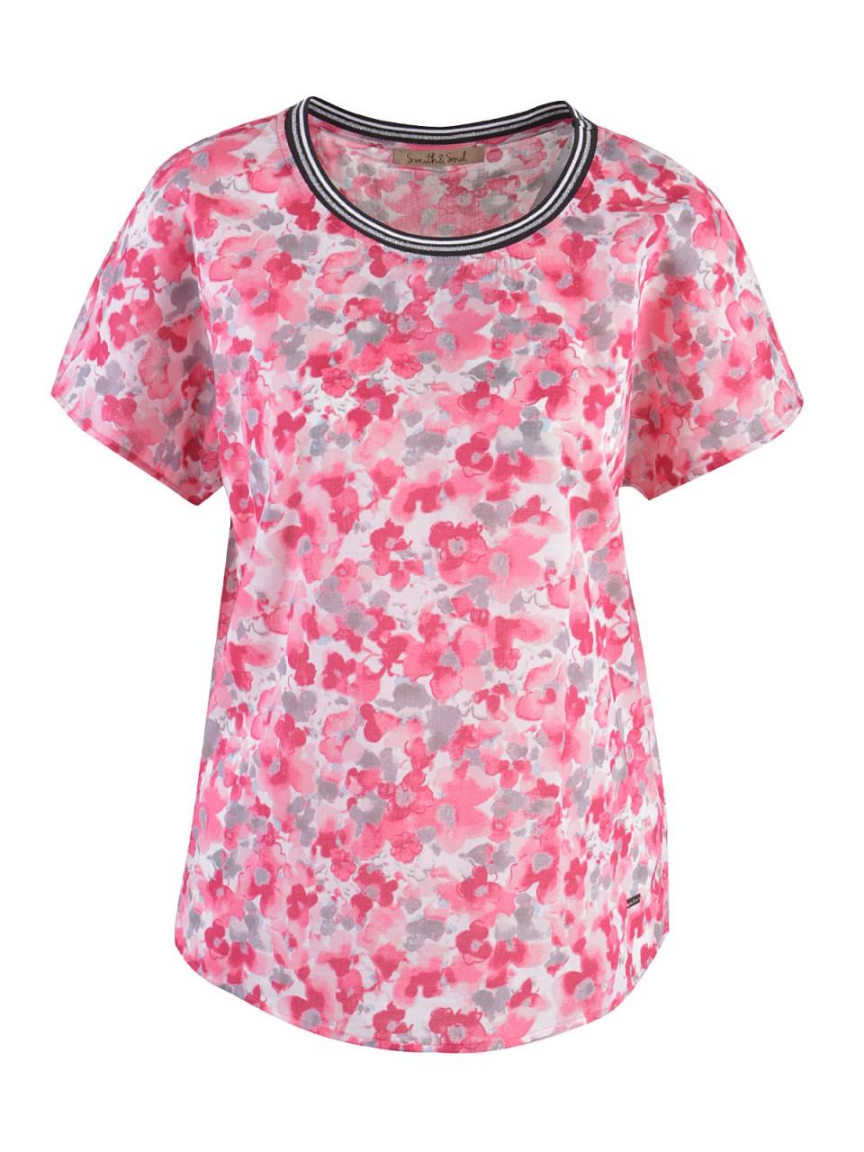 smith-amp-soul-damen-t-shirt-pink