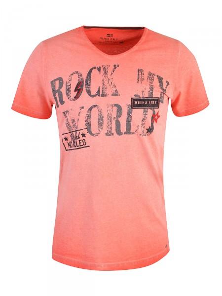 MILANO ITALY Herren T-Shirt, orange