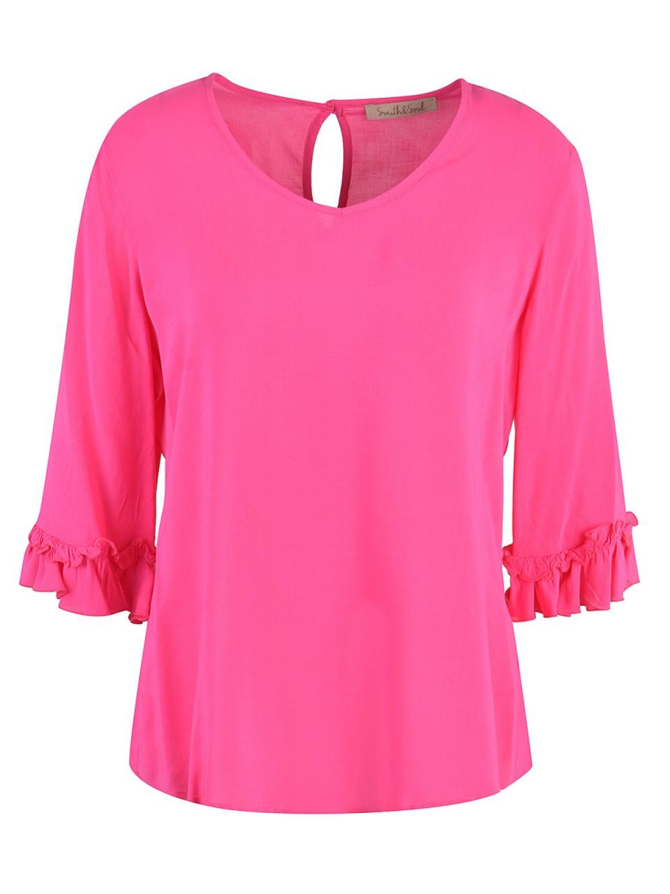 smith-amp-soul-damen-bluse-pink