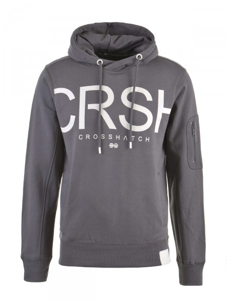 CROSSHATCH Herren Sweatshirt, anthrazit