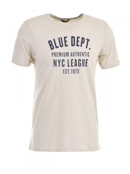 JACK & JONES Herren T-Shirt, beige