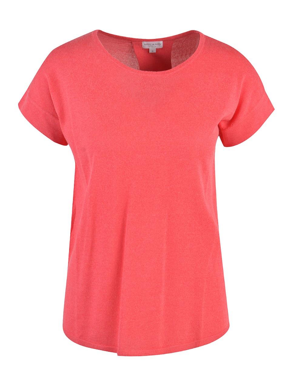 milano-italy-damen-t-shirt-rot
