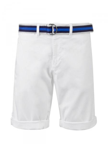 MILANO ITALY Herren Bermuda Shorts, weiß