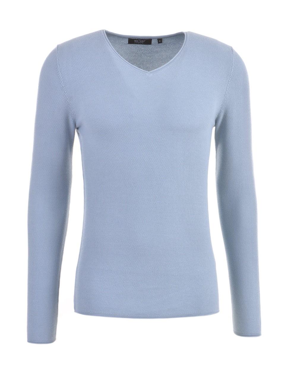 milano-italy-herren-pullover-hellblau