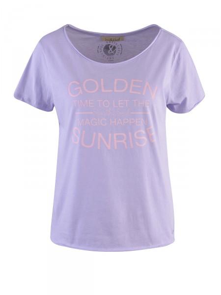 SMITH & SOUL Damen T-Shirt, lavendel