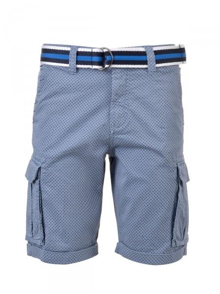 MILANO ITALY Herren Bermuda Shorts, blau