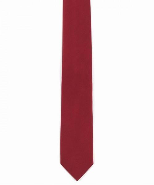 MILANO ITALY Herren Krawatte Seide, rot