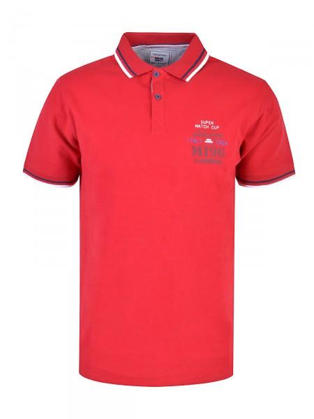 MILANO ITALY Herren Poloshirt, rot