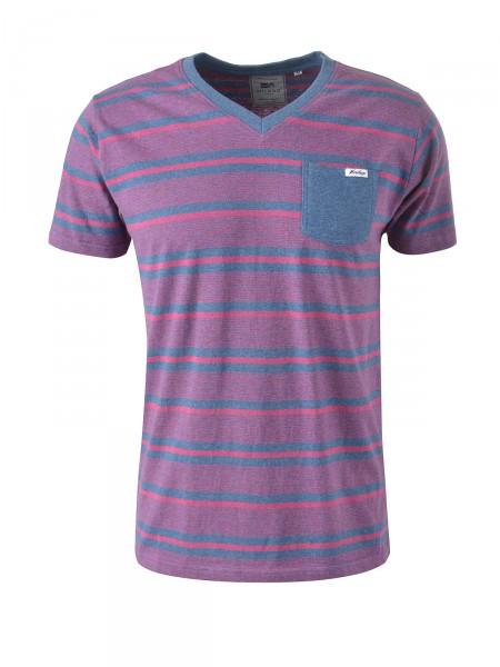 MILANO ITALY Herren T-Shirt, rot-blau