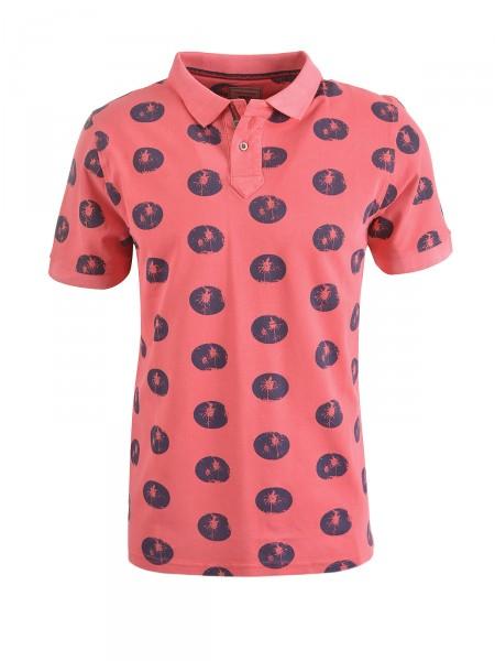 MILANO ITALY Herren Poloshirt, rotorange
