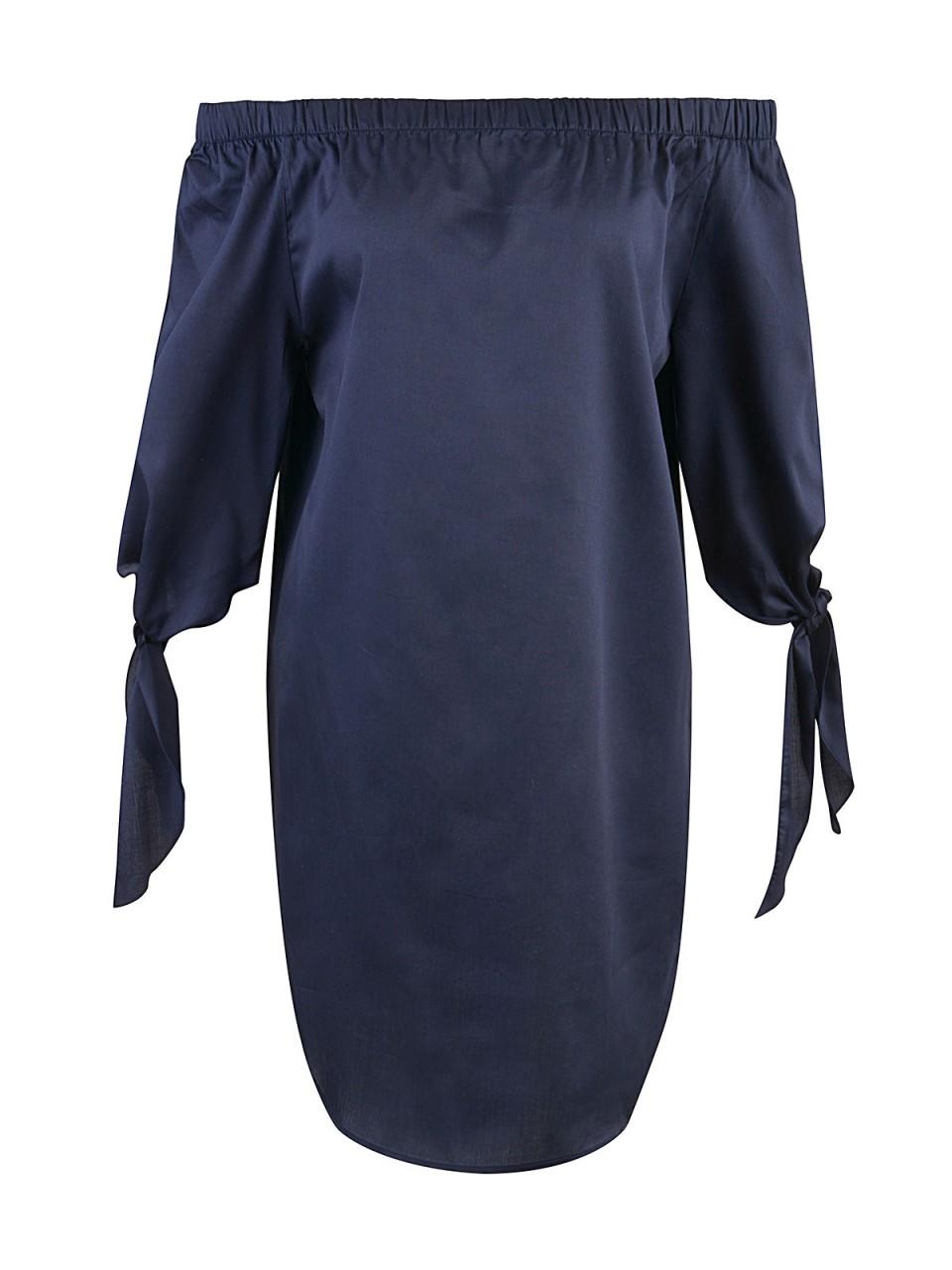Kleider - MILANO ITALY Damen Kleid, dunkelblau  - Onlineshop Designermode.com