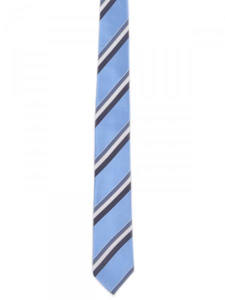 MILANO ITALY Herren Krawatte Seide, blau