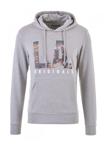 JACK & JONES Herren Sweatshirt, grau
