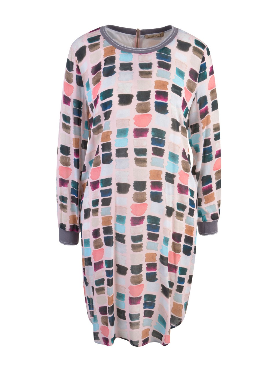 Premium Bluse Dirndl aus edlem Jacquard ° Lila Schwarz ...