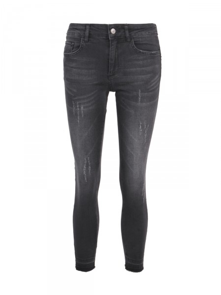 SMITH & SOUL Damen Jeans, grau